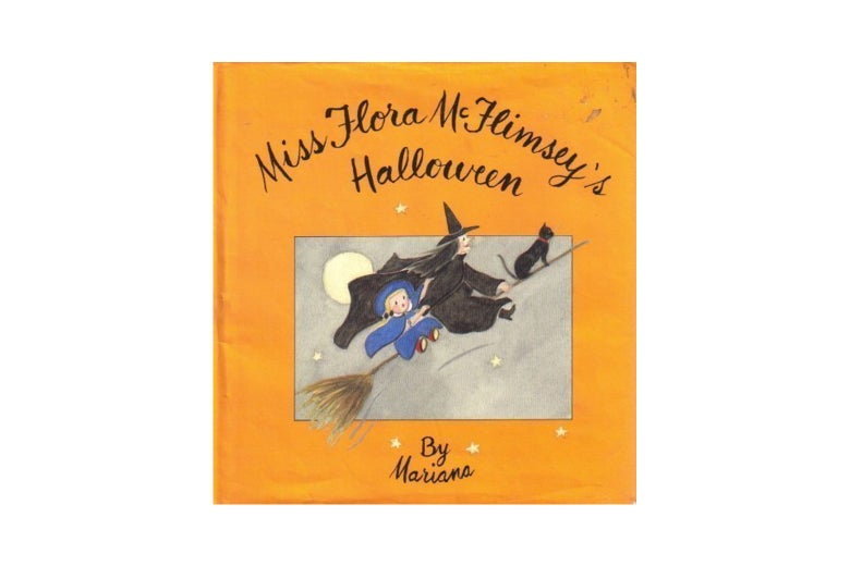 Miss Flora McFlimsey's Halloween cover