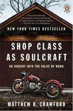 Shop Class as Soulcraft, by Matthew Crawford