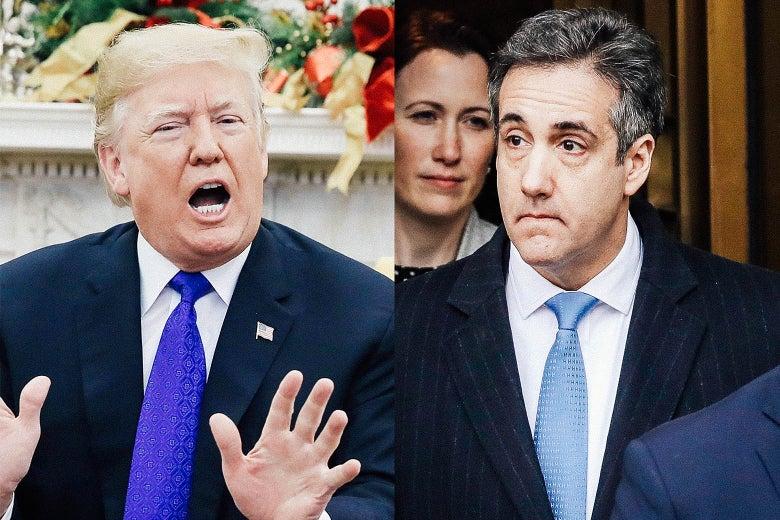 Donald Trump, Michael Cohen.