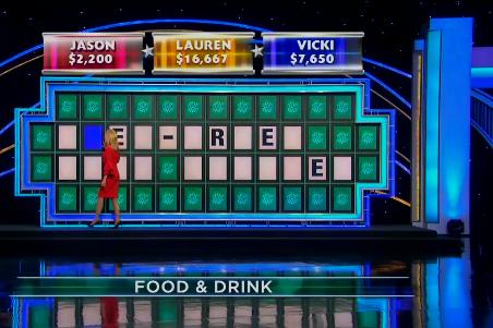A Wheel of Fortune clue: --E- -R-E- ---- -----E-