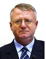 Vojislav Seselj, former leader of the Serbian Radical Party. Click image to expand.