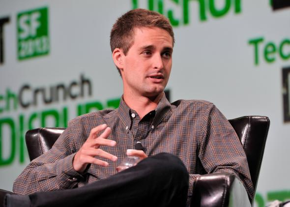 Evan Spiegel isn't sorry.