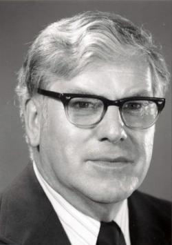 Robert C. Baker around 1979.