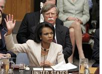 Condoleezza Rice and John Bolton. Click image to expand.