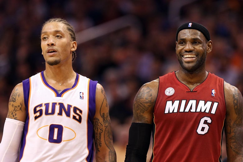 Michael Beasley joins LeBron James in Los Angeles as the Lakers put ... f7ff20fbf