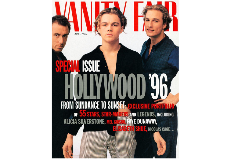 Vanity Fair's 1996 Young Hollywood issue.