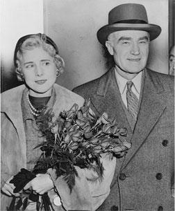 Publisher Henry Luce and his wife.