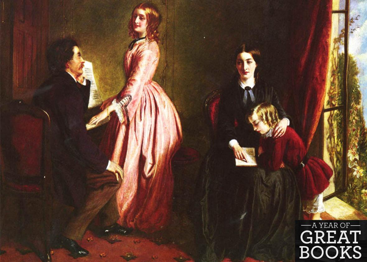 The Governess by Rebecca Solomon (1832-1886).