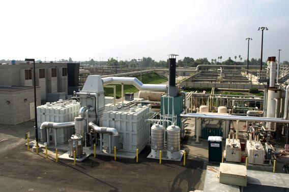 A 2.8 MW fuel cell plant at Inland Empire.