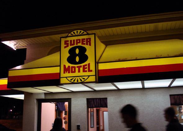Super 8 motel.