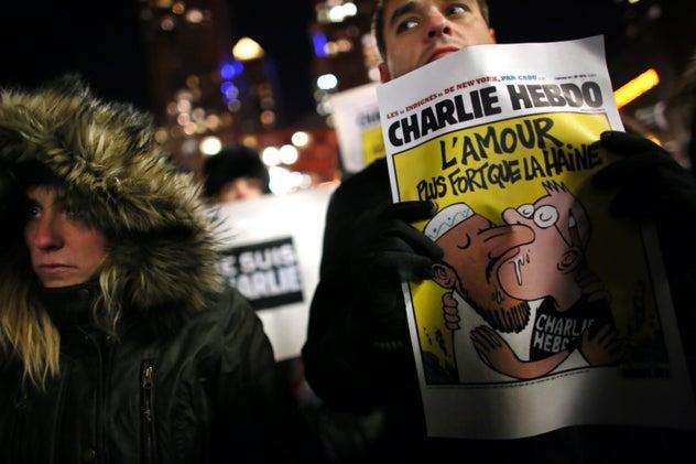 Charlie Hebdo Is Heroic and Racist