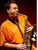 Photograph of John Zorn