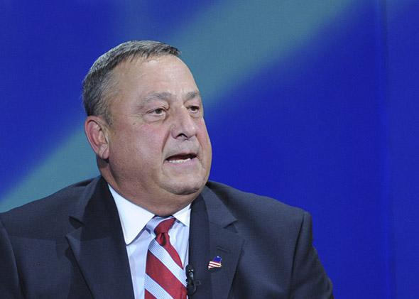 Paul LePage, Governor of Maine in New York, September 2011.