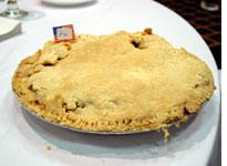 The Charlie Brown christmas pie