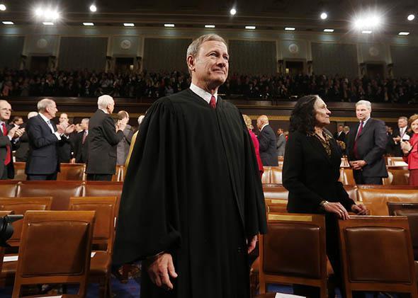 U.S. Supreme Court Chief Justice John Roberts.