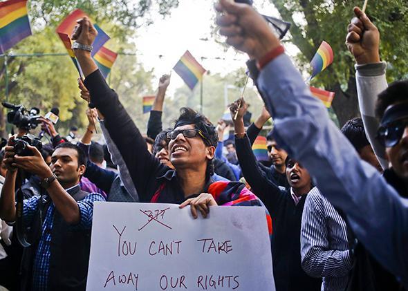 Gay Rights, New Delhi, India