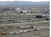 The remains of Camp Bart, Ingushetia