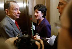 Sens. Arlen Specter and Susan Collins. Click image to expand.