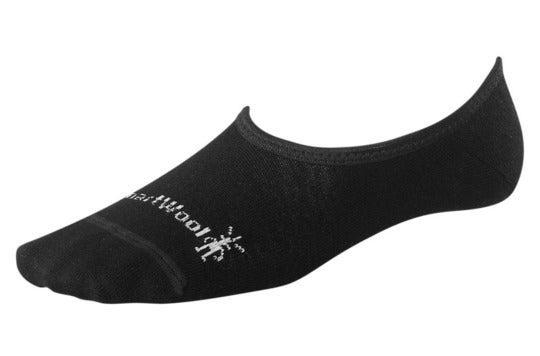 Low cut black sock.