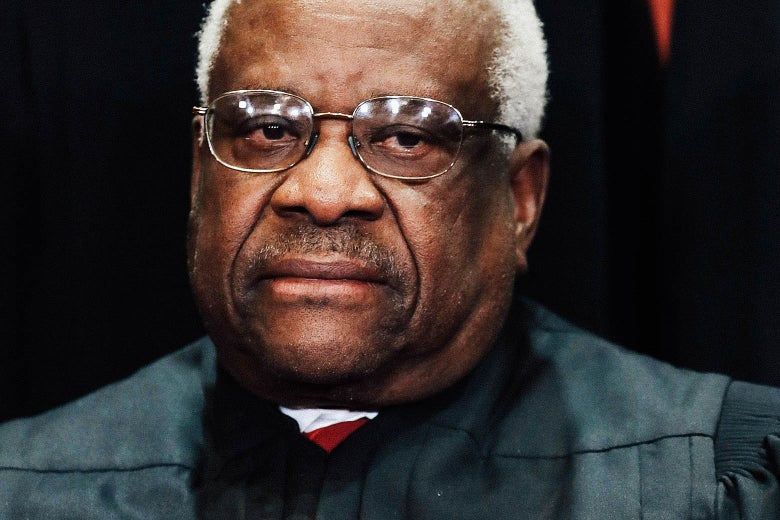 """Clarence Thomas Just Joined Donald Trump's Crusade to """"Open Up"""" Libel Laws - Slate"""