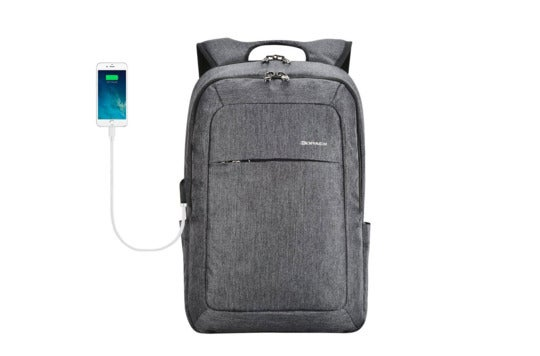 Kopack slim laptop backpack.