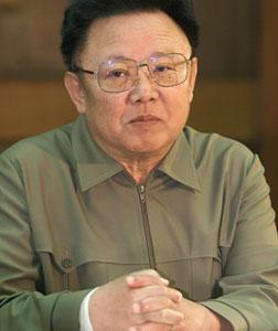 North Korean leader Kim Jong II. Click image to expand