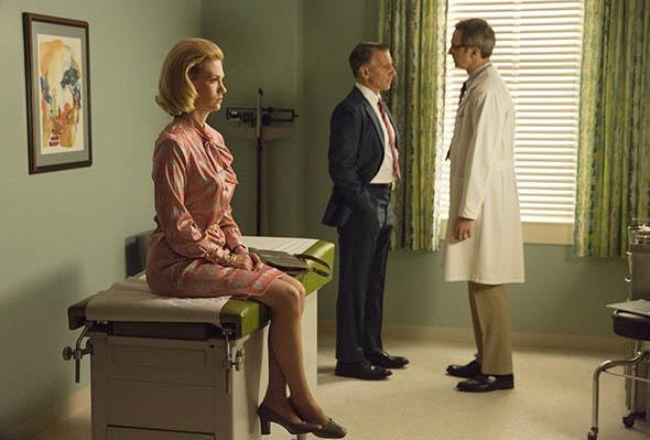 January Jones as Betty Francis in Mad Men.