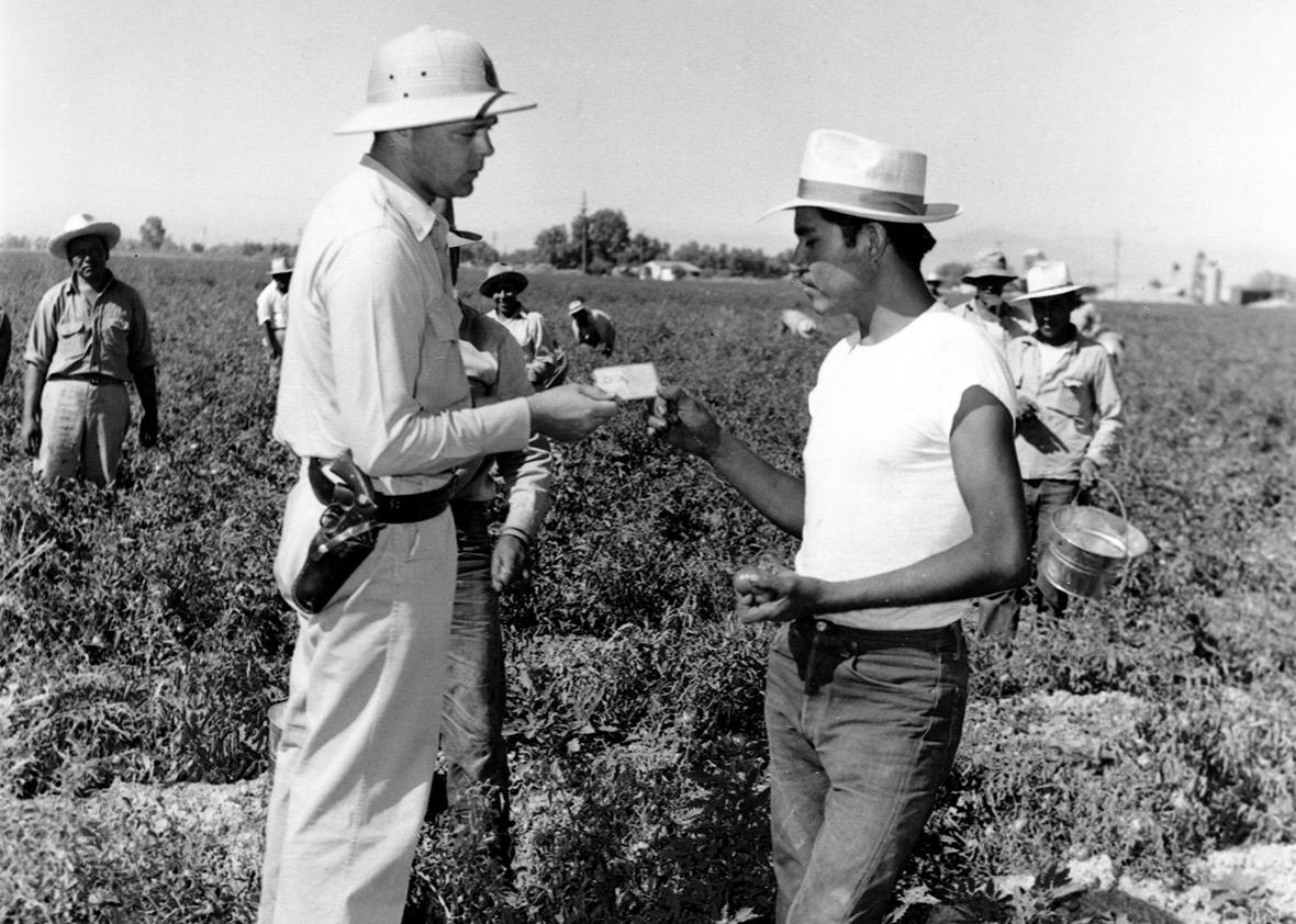 U.S. PATROL MEXICAN FARMERS