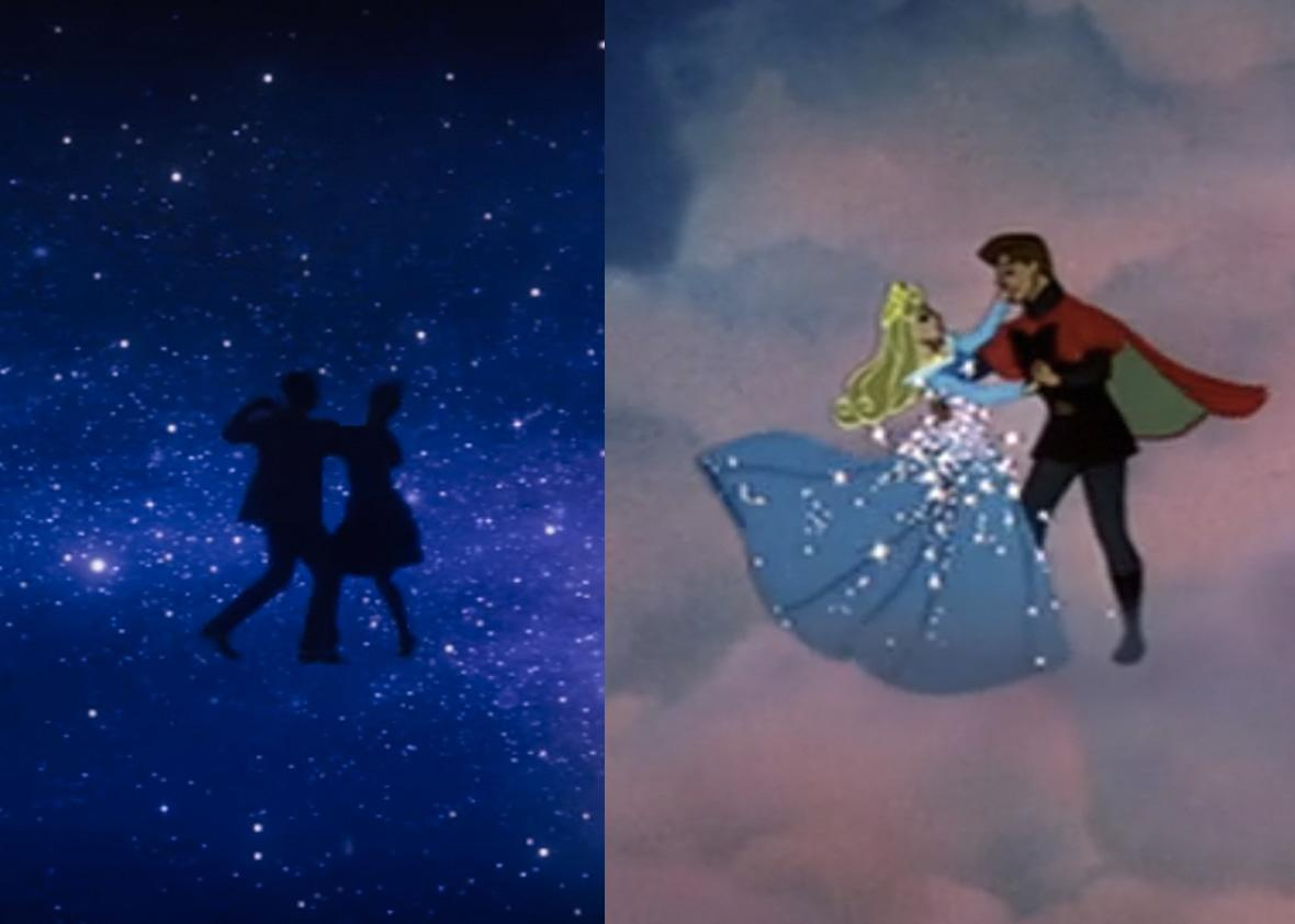 Left: La La Land. Right: Sleeping Beauty.
