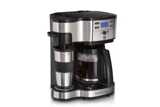 Hamilton Beach coffee maker.