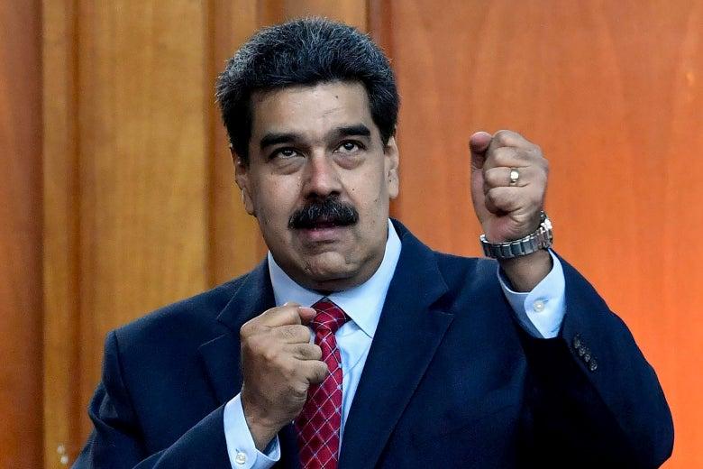 Nicólas Maduro.