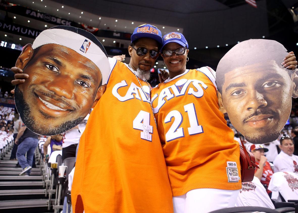 Cleveland Cavaliers fans.