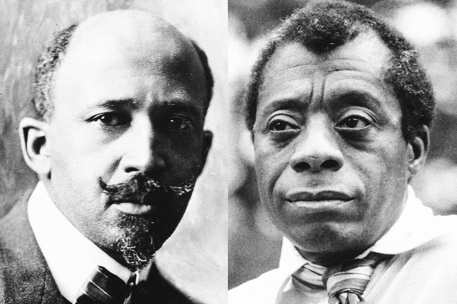 W.E.B Du Bois and James Baldwin.