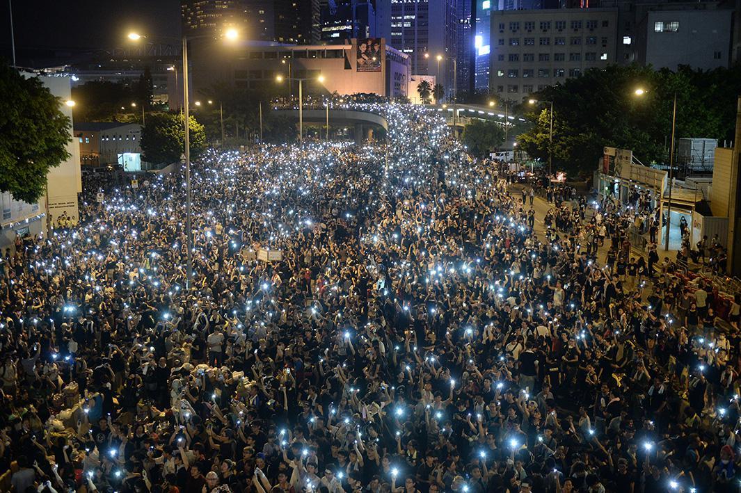 Sept. 29, 2014: Hong Kong