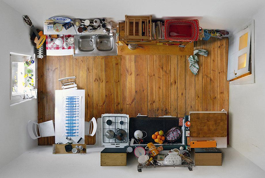 Untitled (Kitchen III), 2008.