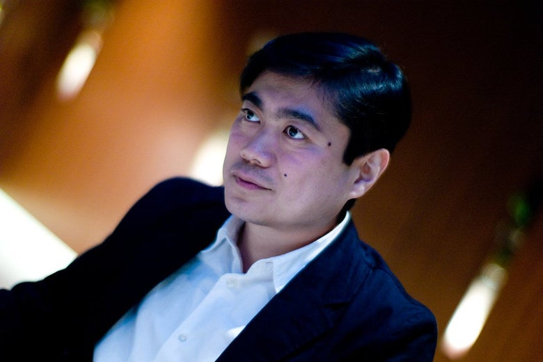 Joi Ito, former MIT Media Lab director, as seen in 2008.