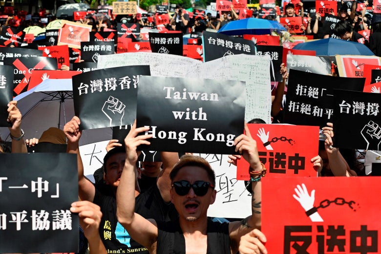 The Hong Kong Protests Could Be a Prelude to a Big Showdown Over Taiwan