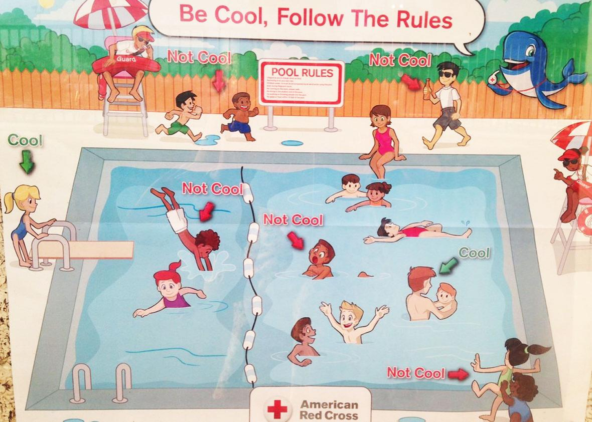 The Red Cross pulled its racist swimming posters. It\'s still ...