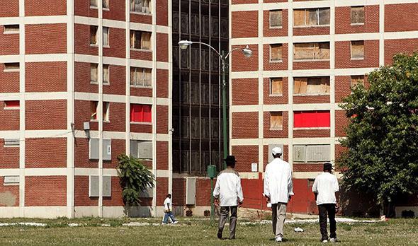 Chicago IL Cabrini Green 2005