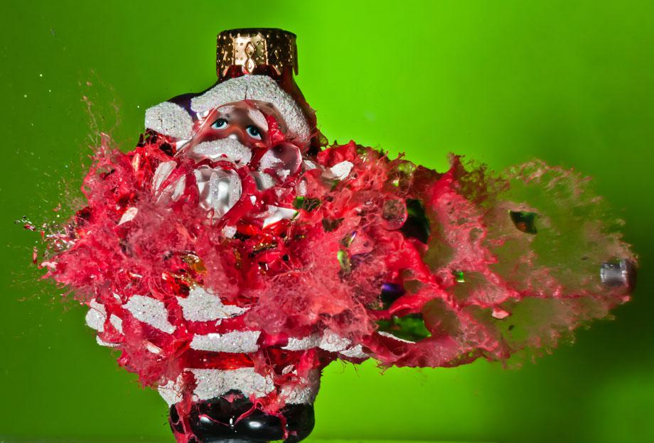 War on Christmas Alan Sailer Bloody Santa