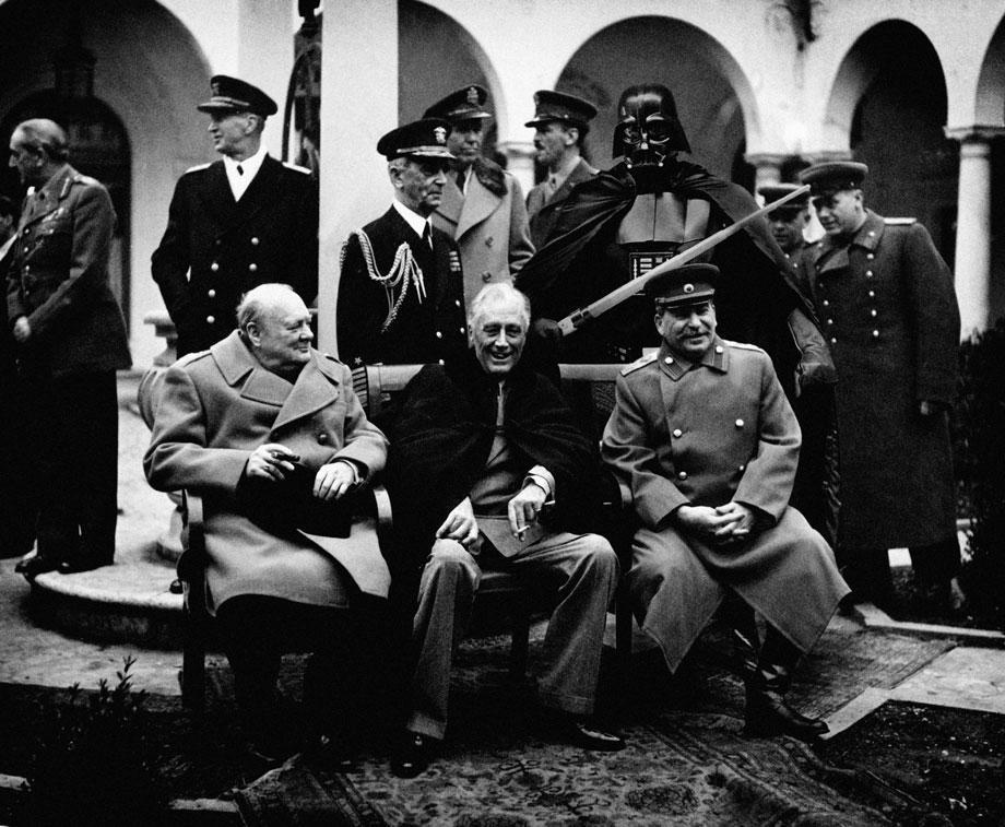 Yalta Conference, 1945.
