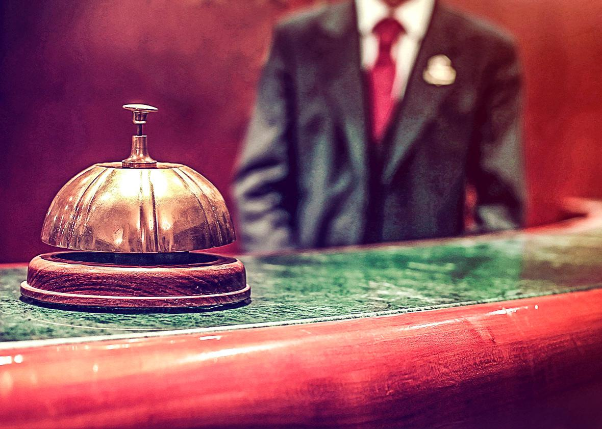 Hotel Concierge.