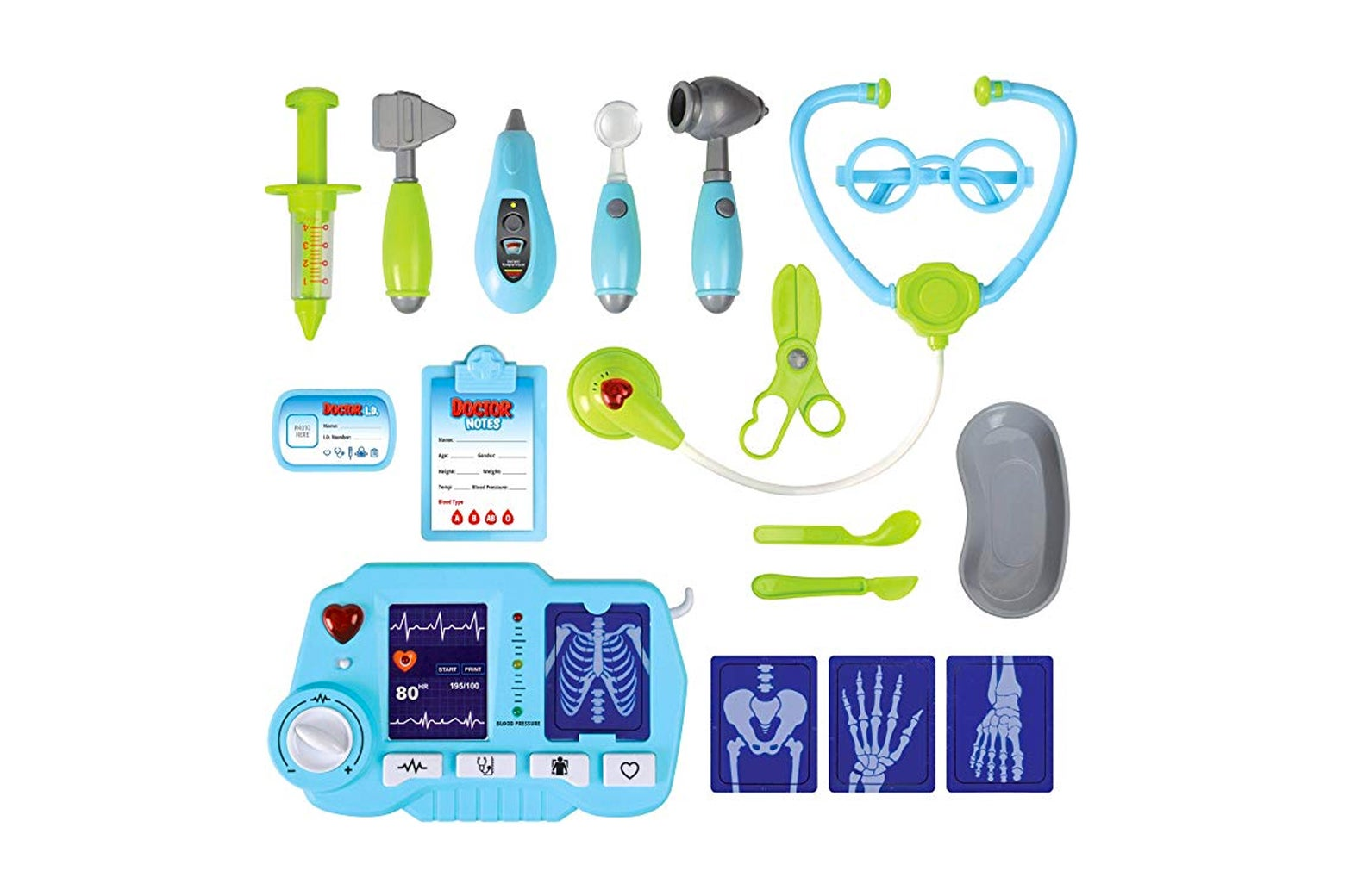 Kangaroo Doctor Kit With Light-Up X-Ray Machine