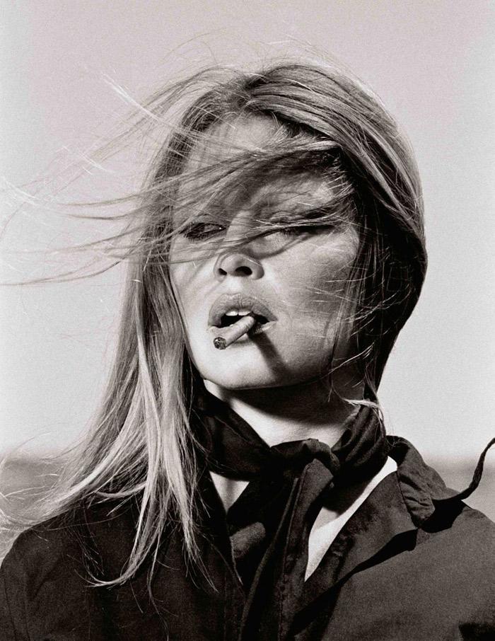 Terry O'Neill_Brigitte Bardot, 1971. Estimated between $6,392 and $9,588.