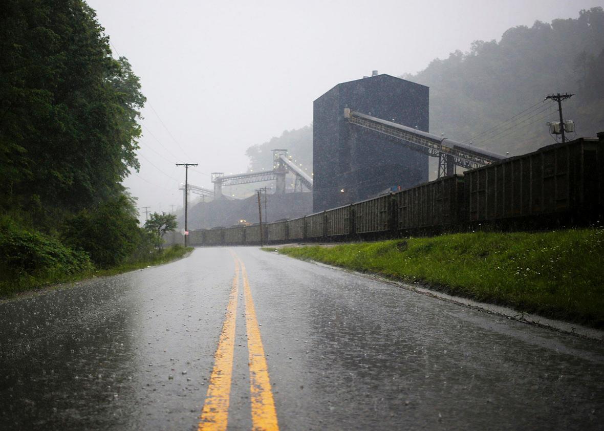 coal plant.