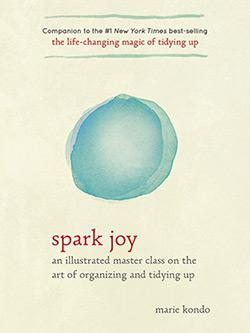 The cover of Spark Joy.