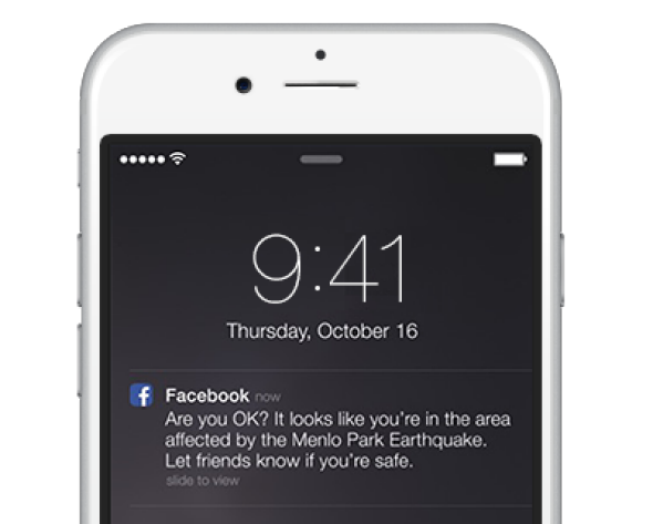 Facebook could be surprisingly useful in a disaster.