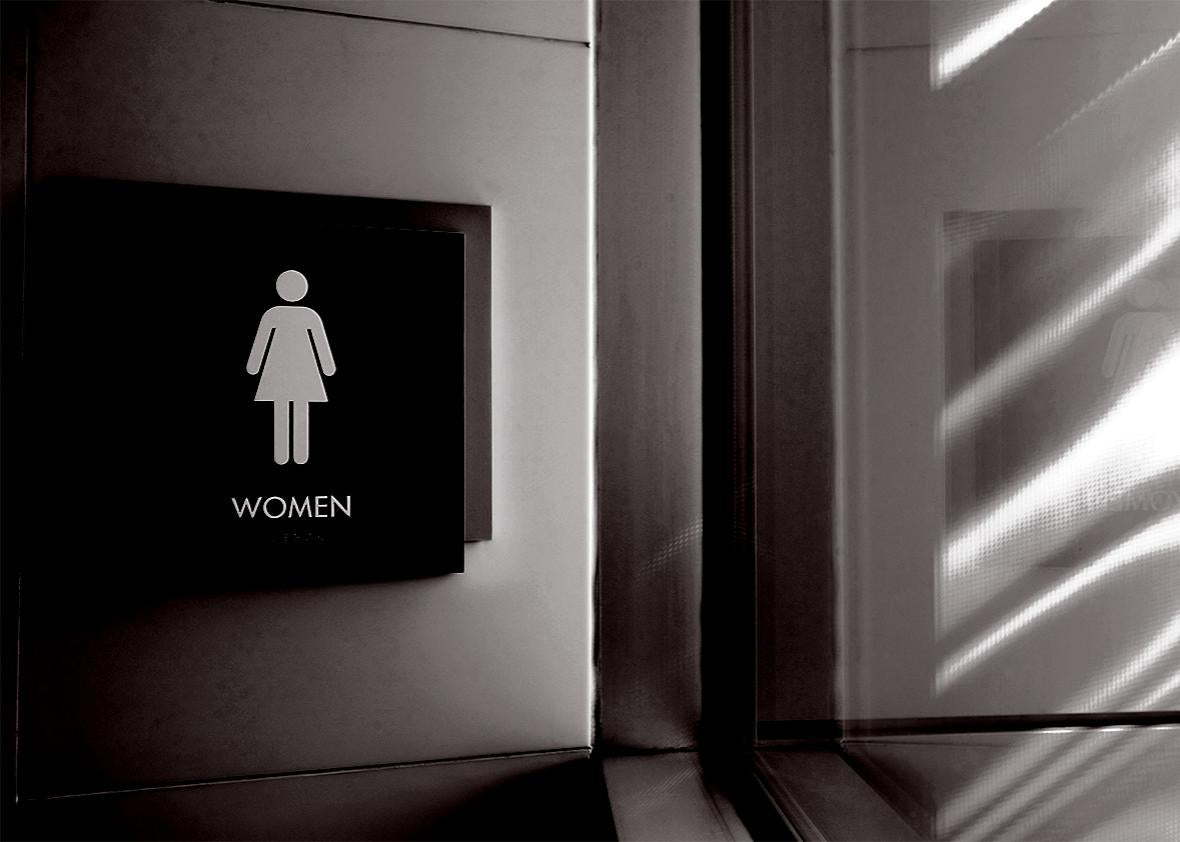 trans bathroom.