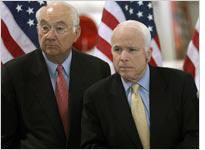 Phil Gramm and John McCain. Click image to expand.