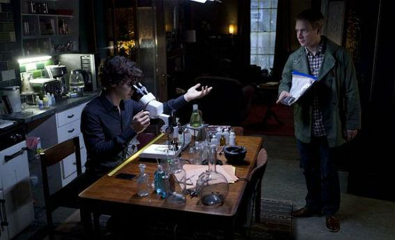 Still from Sherlock.
